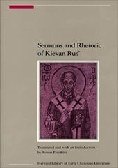 Sermons and Rhetoric of Kievan Rus' - Franklin, Simon