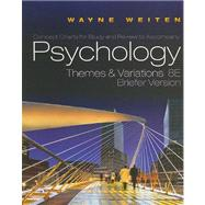 Concept Charts for Weitens Psychology: Themes and Variations, Briefer Edition, 8th - Weiten, Wayne