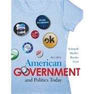 American Government and Politics Today 2011-2012 Edition - Schmidt, Steffen W.; Shelley, Mack C.; Bardes, Barbara A.; Ford, Lynne E.