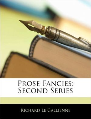 Prose Fancies
