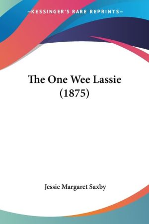 The One Wee Lassie (1875)