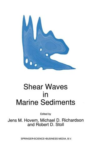 Shear Waves in Marine Sediments - J.M Hovem (Editor), Michael Richardson (Editor), Robert D. Stoll (Editor)