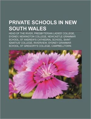 Private Schools In New South Wales