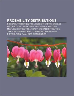 Probability distributions: Probability distribution, Hubbert curve, Weibull distribution, Cumulative frequency analysis, Mixture distribution