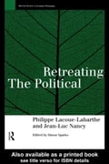 Retreating the Political - Nancy, Jean-Luc