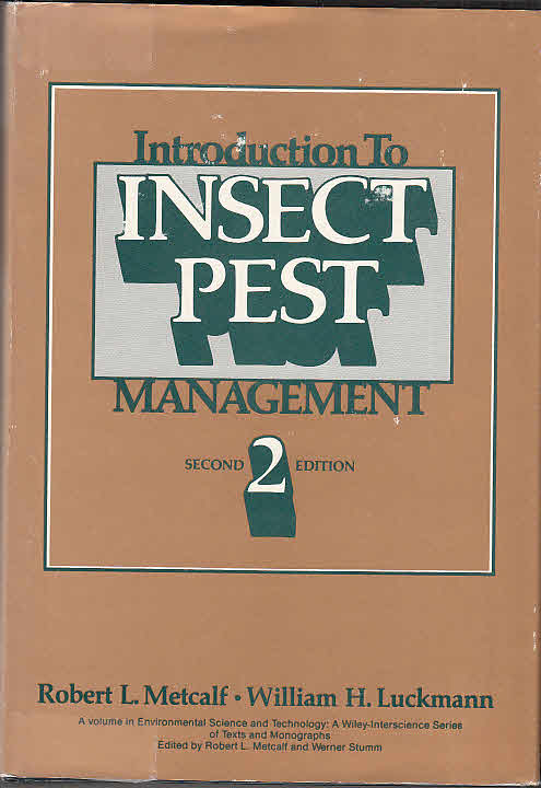 Introduction to Insect Pest Management = Environmental Science and Technology - Metcalf, Robert Lee