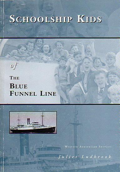 SCHOOLSHIP KIDS OF THE BLUE FUNNEL LINE WESTERN AUSTRALIAN SERVICE - LUDBROOK, Juliet