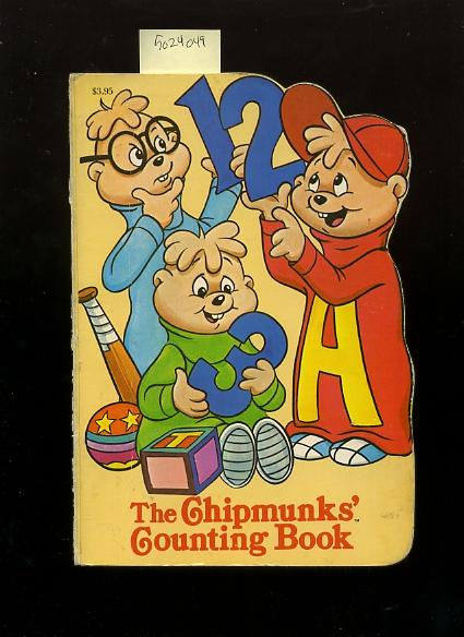 The Chipmunks' Counting Book [Pictorial Children's Reader, Learning to Read, Skill Building, Shaped Board book] - Blum, Rochelle / Corny Cole, Jean Paynter, Dennis Durrell