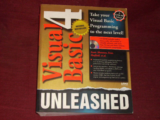 Visual Basic 4 Unleashed, w. CD-ROM. - Scott, Conrad; Shannon, Brad; Font, Frank
