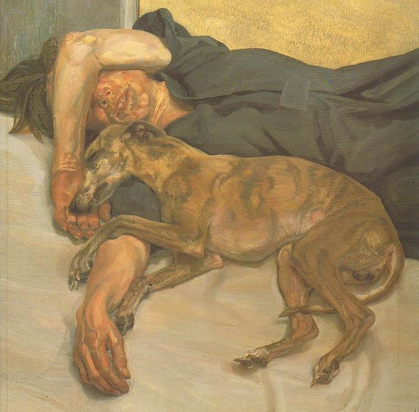 Lucian Freud. Recent work. - Freud, Lucien]; Lampert, Catherine