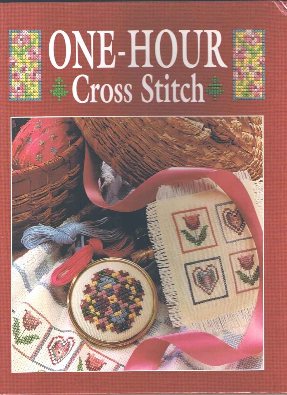One-Hour Cross Stitch by Sunset Books; Symbol of Excellence