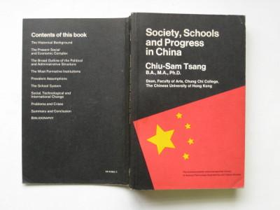 Society, Schools and Progress in China (The Commonwealth and International library, Education and educational research division)