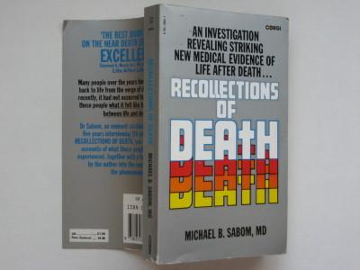 Recollections of death - Sabom, Michael B.