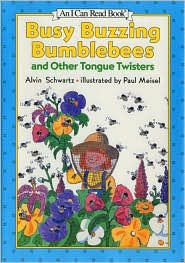 Busy Buzzing Bumblebees and Other Tongue Twisters (I Can Read Book Series Level 1) - Alvin Schwartz