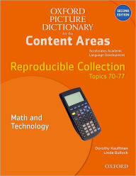 Oxford Picture Dictionary for the Content Areas Reproducible: Math and Technology - Dorothy Kauffman