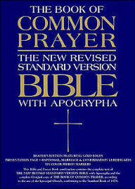 The 1979 Book of Common Prayer and the New Revised Standard Version (NRSV) Bible with Apocrypha: black genuine leather - Oxford University Press