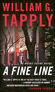 A Fine Line (Brady Coyne Series #19) - William G. Tapply