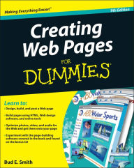 Creating Web Pages For Dummies - Bud E. Smith