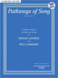 Pathways of Song, Vol 1: Low Voice, Book & CD - Frank LaForge