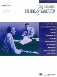 Sing the Songs of Rodgers & Hammerstein: for High Voice, with CD: (Sheet Music) - Hal Leonard Corp.