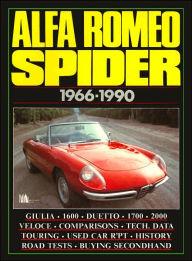 Alfa Romeo Spider: 1966-1990 (Brooklands Books Collections Series) - R.M. Clarke