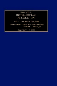 The Evolution of International Accounting Standards in Transitional and Developing Economies