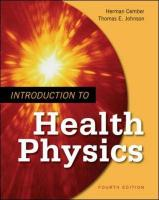 Introduction to Health Physics