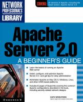 Apache Server 2.0: A Beginner's Guide