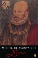 Montaigne: Essays