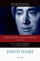 David Hume: A Treatise of Human Nature: Volume 2: Editorial Material