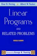 Linear Programs & Related Problems: A Volume in the Computer Science and Scientific Computing Series - Nering, Evar D.