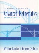 Introduction to Advanced Mathematics - Barnier, William; Feldman, Norman; Feldman, Norman