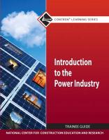 Introduction to the Power Industry Trainee Guide
