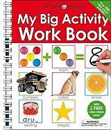 My Big Activity Work Book [With 2 Wipe-Clean Pens]
