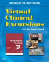 Virtual Clinical Excursions 3.0 for Adult Health Nursing