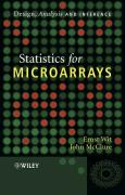 Statistics for Microarrays: Design, Analysis and Inference