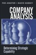 Company Analysis: Determining Strategic Capability