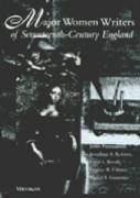 Major Women Writers of Seventeenth-Century England