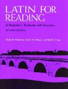 Latin for Reading Instructor's Manual: A Beginner's Textbook with Exercises