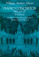 Piano Concertos Nos. 23-27 in Full Score