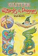 Glitter Wizards & Dragons Stickers