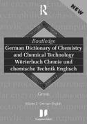 Routledge-Langenscheidt German Dictionary of Chemistry and Chemical Technology / Worterbuch Chemie Und Chemische Technik Englisch: German-English