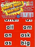 High Frequency Level 1 Word Wall Words - Scholastic, Inc.