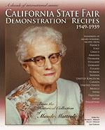 California State Fair Demonstration Recipes 1949-1959