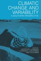 Climatic Change and Variability Climatic Change and Variability: A Southern Perspective