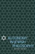 Autonomy in Jewish Philosophy - Seeskin, Kenneth
