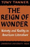 The Reign of Wonder: Naivety and Reality in American Literature