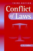 Conflict of Laws - Collier, J. G.; Collier, John G.