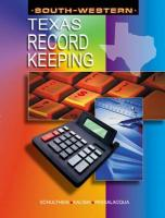 Recordkeeping for Texas