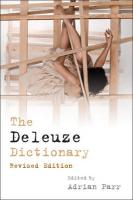 The Deleuze Dictionary